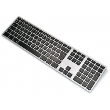 UK Matias Bluetooth Aluminum Backlit Keyboard Space Gray